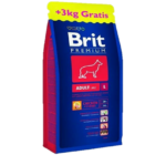Brit Premium Adult Large Breed 15kg+3kg Ajándék