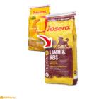 Josera Lamb & Rice csomagolásváltás