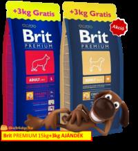 Brit Premium 15+3kg gratis-webtap.hu