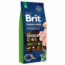 Brit Premium By Nature Adult Extra Large 15g kutyatáp