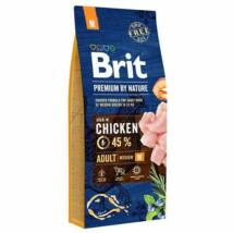 Brit Premium By Nature Adult Medium 15kg