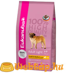 Eukanuba Adult Weight Control Small & Medium Breeds 3 kg