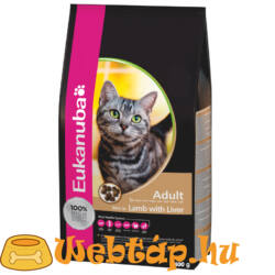 Eukanuba Cat Adult rich in Lamb & Liver 0.4 kg