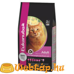 Eukanuba Cat Adult Owerweight/Sterilized 0.4 kg