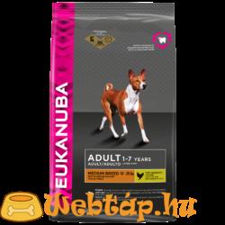 Eukanuba Adult Medium Breeds 3 kg