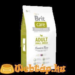 Brit Care Adult Small Breed Lamb & Rice 1kg kutyatáp
