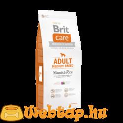 Brit Care Adult Medium Breed Lamb & Rice 1kg kutyatáp
