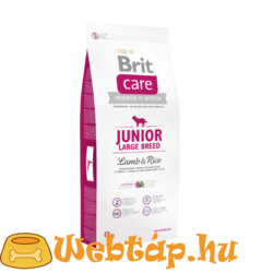 Brit Care Junior Large Breed Lamb & Rice 1kg kutyatáp