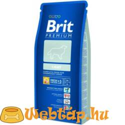 Brit Premium Light 3kg kutyatáp