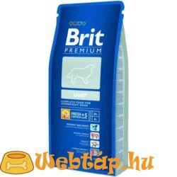 Brit Premium Light 3kg kutyatáp