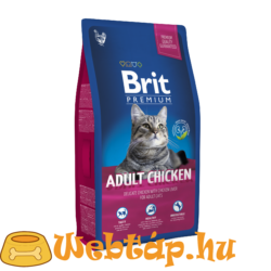 Brit Premium Cat  Adult Chicken 0.8kg