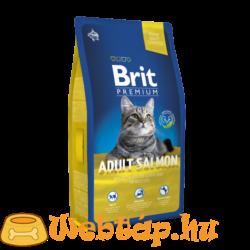 Brit Premium Cat  Adult Salmon 0.8kg