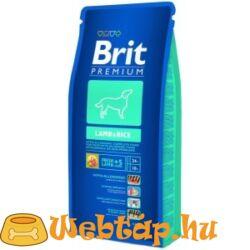 Brit Premium Lamb & Rice 3kg kutyatáp