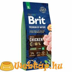 Brit Premium By Nature Junior Extra Large 3kg kutyatáp