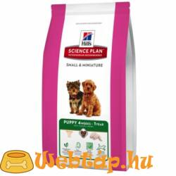 Hill's SP Canine Puppy Small&Miniature Chicken 1,5 kg