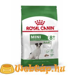 Royal Canin Mini Adult 8+.  0.8kg