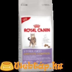 Royal Canin Sterilised Appetite Control  0.4kg