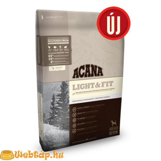 Acana Light & Fit 0.34kg kutyatáp