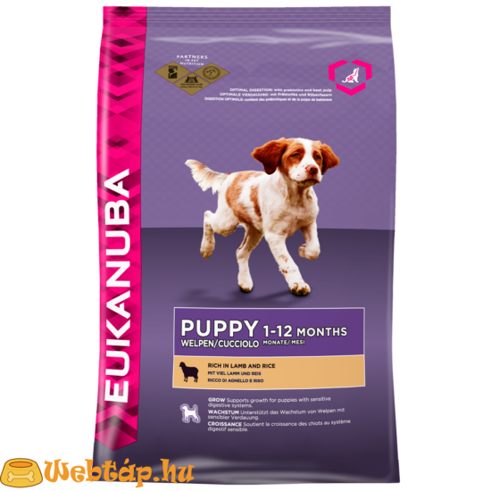 Eukanuba Puppy Lamb & Rice All Breeds 1 kg