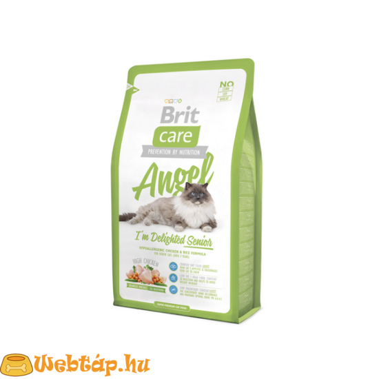 Brit Care Cat Angel I'm Delighted Senior 0.4kg