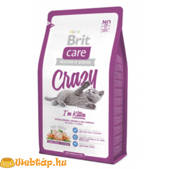 Brit Care Cat Crazy I'm Kitten 0.4kg