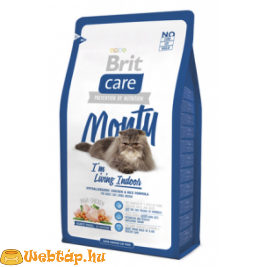 Brit Care Cat Monty I'm Living Indoor 0.4kg