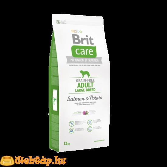 Brit Care Grain-free Adult Large Breed Salmon & Potato 1kg