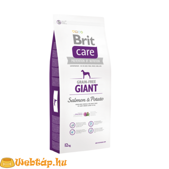 Brit Care Grain-free Giant Salmon & Potato 1kg