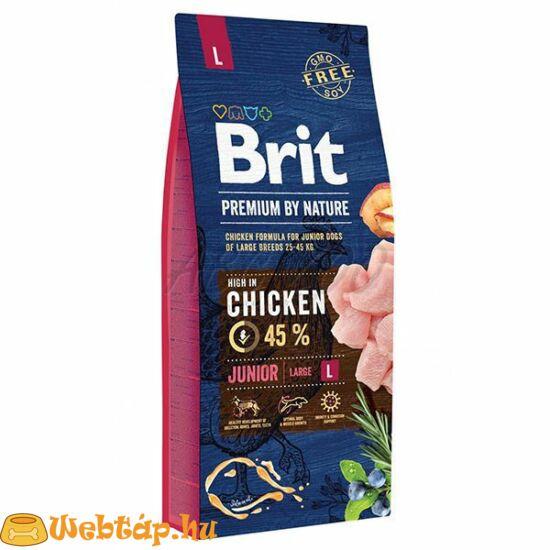 Brit Premium By Nature Junior Large 15kg