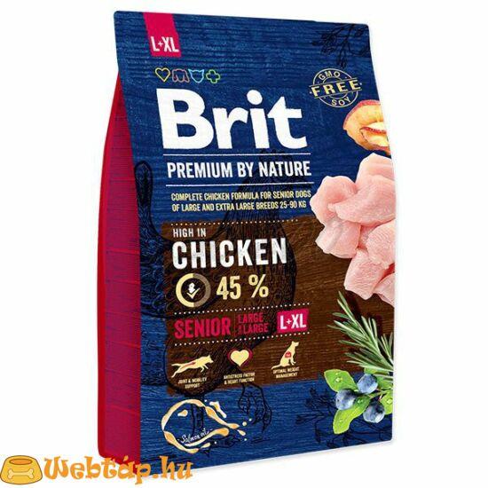 Brit Premium By Nature Senior Large / Extra Large 15kg kutyatáp