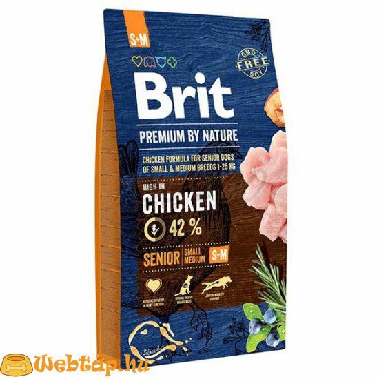 Brit Premium By Nature Senior Small / Medium 15kg