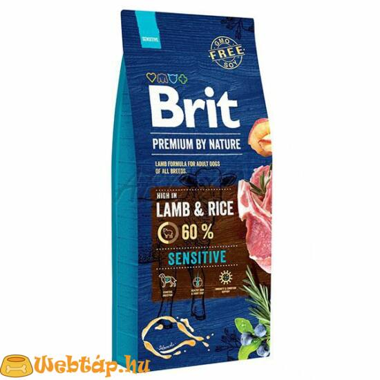 Brit Premium by Nature Sensitive Lamb 3kg kutyatáp