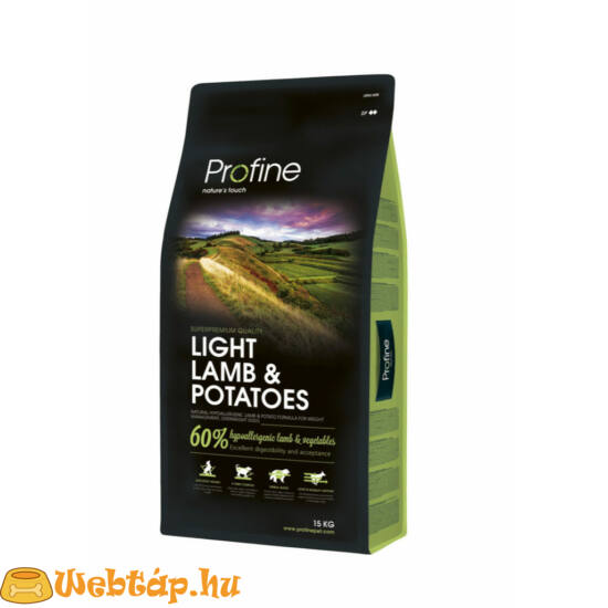 Profine Light Lamb 3kg kutyatáp