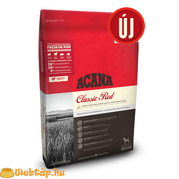 Acana Classic Red 0.34kg kutyatáp