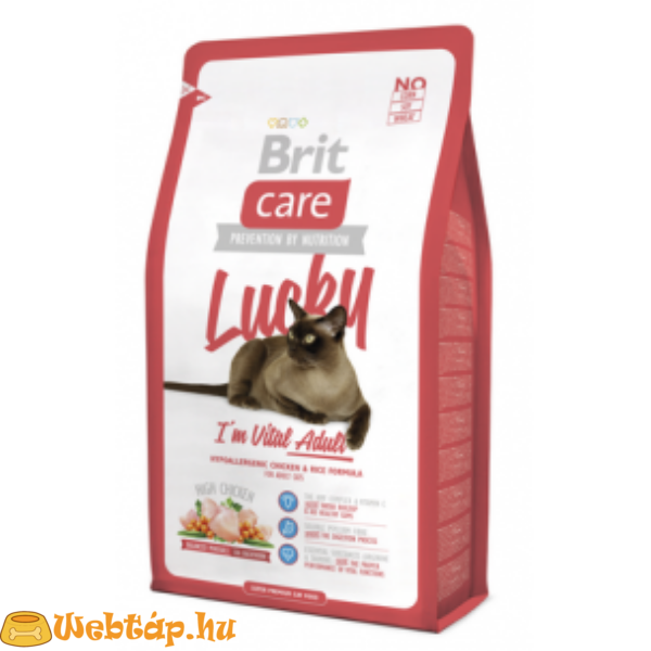 Brit Care Cat Lucky I'm Vital Adult 0.4kg