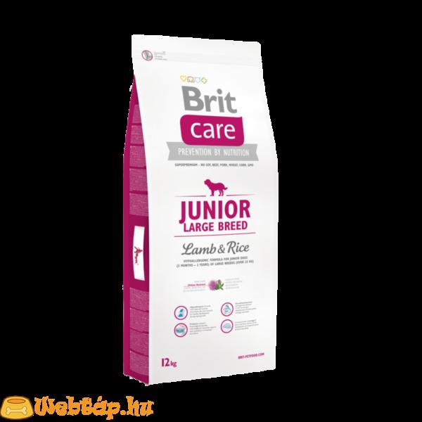 Brit Care Junior Large Breed Lamb & Rice 1kg kutyatáp