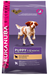 Eukanuba Puppy Lamb & Rice All Breeds 2,5 kg